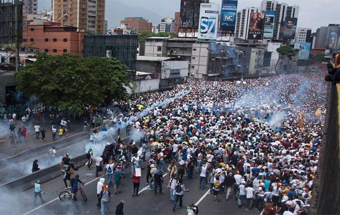 Protests against madura